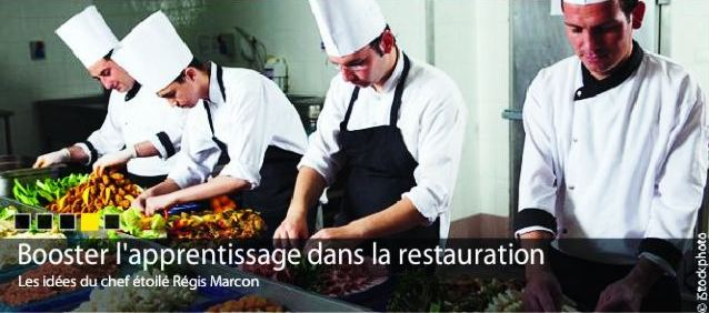 Cuisiniers de france le beau m tier de cuisinier for Salaire apprenti cuisine